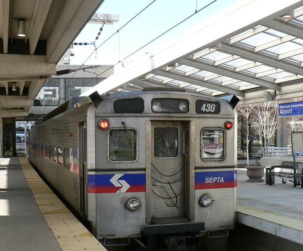 Girl having sex on septa train