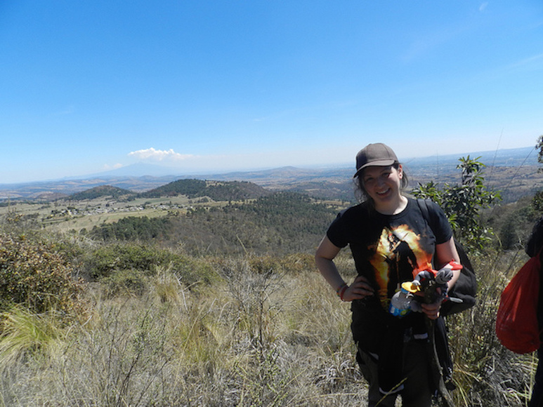 On top of a mountain in Preciosita, Mexico. Taken by Arcadia student, Deanna Haasz.