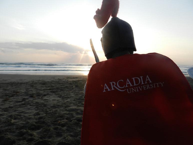 on beach in Veracruz, Mexico. Taken by Arcadia student Deanna Haasz.