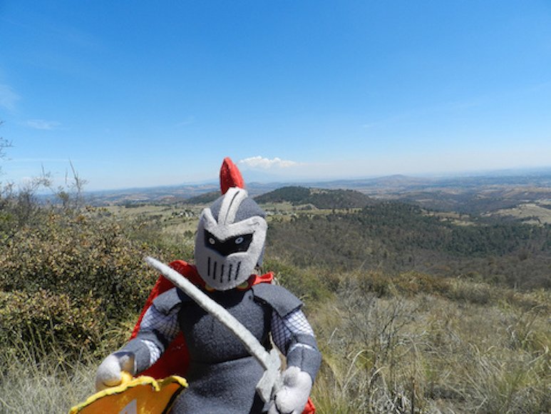 The Knight on Mexican Mountain. Taken by Arcadia student Deanna Haasz.