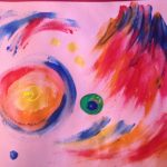 Childhood Rewind: Finger-painting