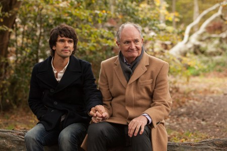 WARNING: Embargoed for publication until 00:00:01 on 10/11/2015 - Programme Name: London Spy - TX: n/a - Episode: n/a (No. 2) - Picture Shows: Danny (BEN WHISHAW), Scottie (JIM BROADBENT) - (C) WTTV Limited - Photographer: Joss Barratt
