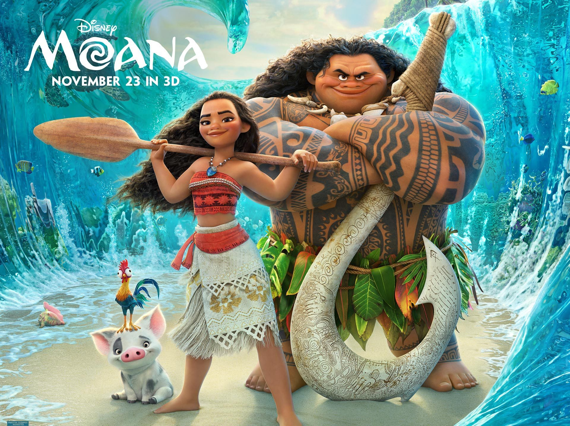 Moana: After Disney Animation's phenomenal Zootopia in March, the studio returns with the musical adventure Moana. From the directors of The Little Mermaid and Aladdin and starring Dwayne Johnson, Moana promises a thrilling adventure and unbelievable music, written by Alexander Hamilton himself, Lin-Manuel Miranda. Disney's impressive streak of amazing animated films will definitely continue with Moana, so get ready for when it comes out this Thanksgiving.