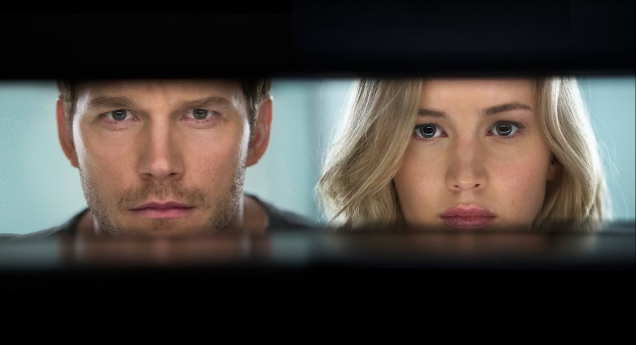 Passengers: You know who's awesome? Jennifer Lawrence. You know who's also awesome? Chris Pratt. Well what if I told you that both actors are going to star together in an upcoming movie? And it will be a sci-fi action romance taking place in outer space? And it's being directed by Morten Tydlum, who directed 2014's The Imitation Game? Sounds amazing, right? Well, get ready for an adventure of a lifetime when this movie arrives December 21st.