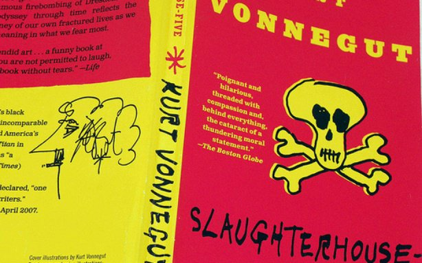 the theme of war in kurt vonneguts slaughterhouse five The theme of time in slaughterhouse-five many writers in history have written science fiction novels and had great success with them, but only a few have been as enduring over time as kurt.
