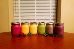 Rainbow Smoothies: A How-To